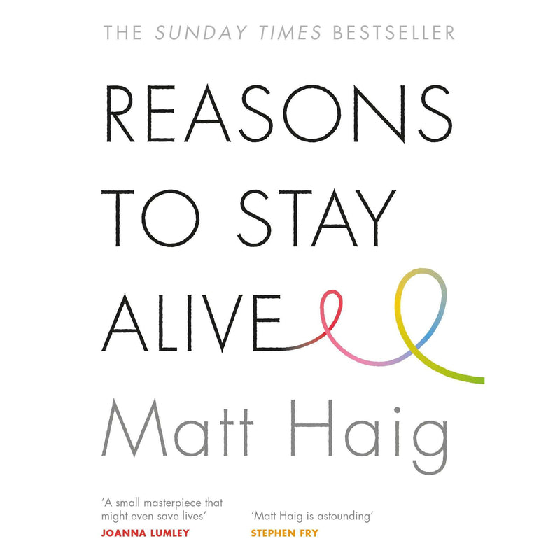 Reasons to Stay Alive By Matt Haig Book