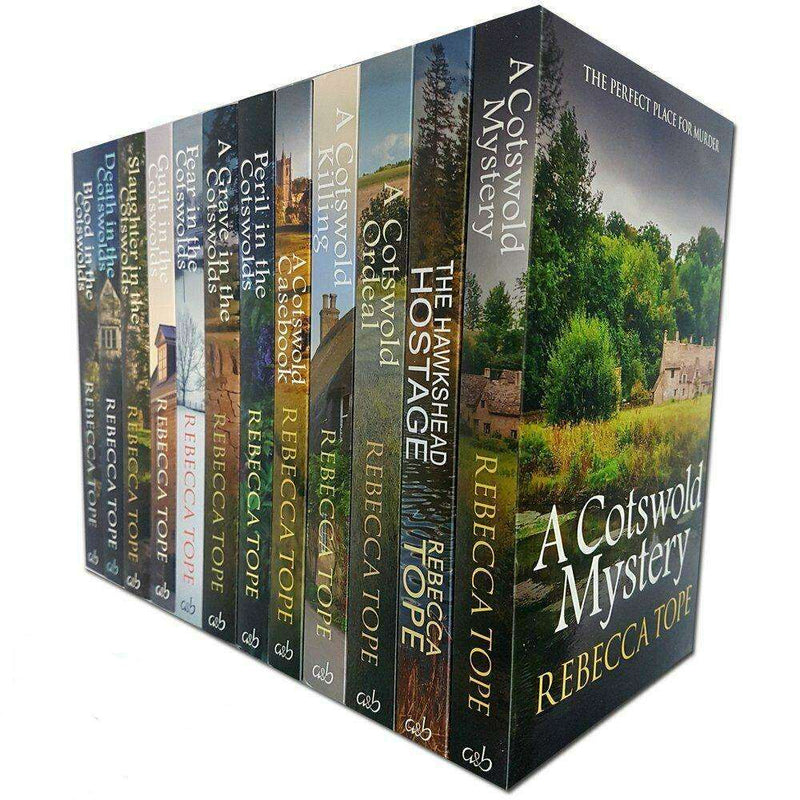 Rebecca Tope Cotswold Mystery Series Collection 12 Books Set Pack A Cotswold Kil
