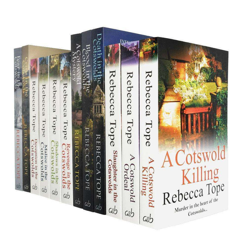 Rebecca Tope Cotswold Mystery Series Collection 12 Books Set Pack