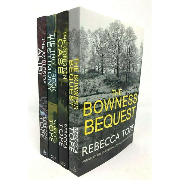 Rebecca Tope Cotswold Mystery Series Collection 4 Books Set Inc Bowness Bequest