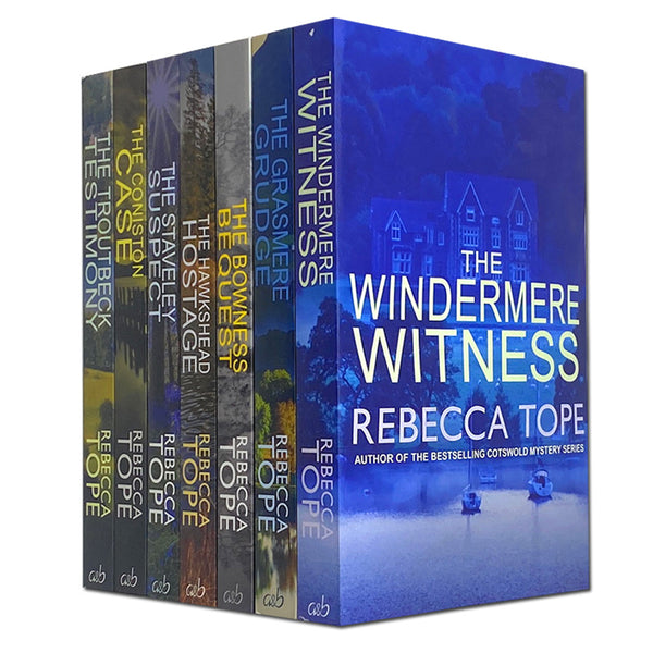 Lake District Mysteries Series Collection 7 Books Set By Rebecca Tope