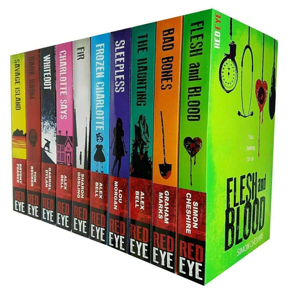 Red Eye Series Collection Simon Cheshire 10 Books Set Charlotte Says,Frozen Charlotte Sleepless
