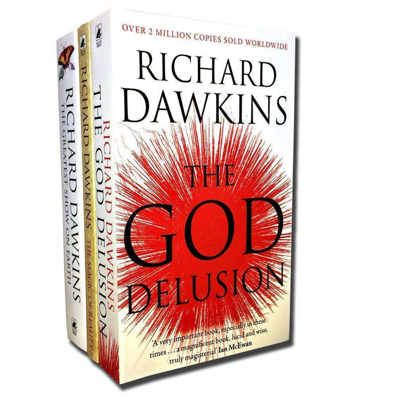 Richard Dawkins 3 Books Collection Set The Magic of Reality,The God Delusion