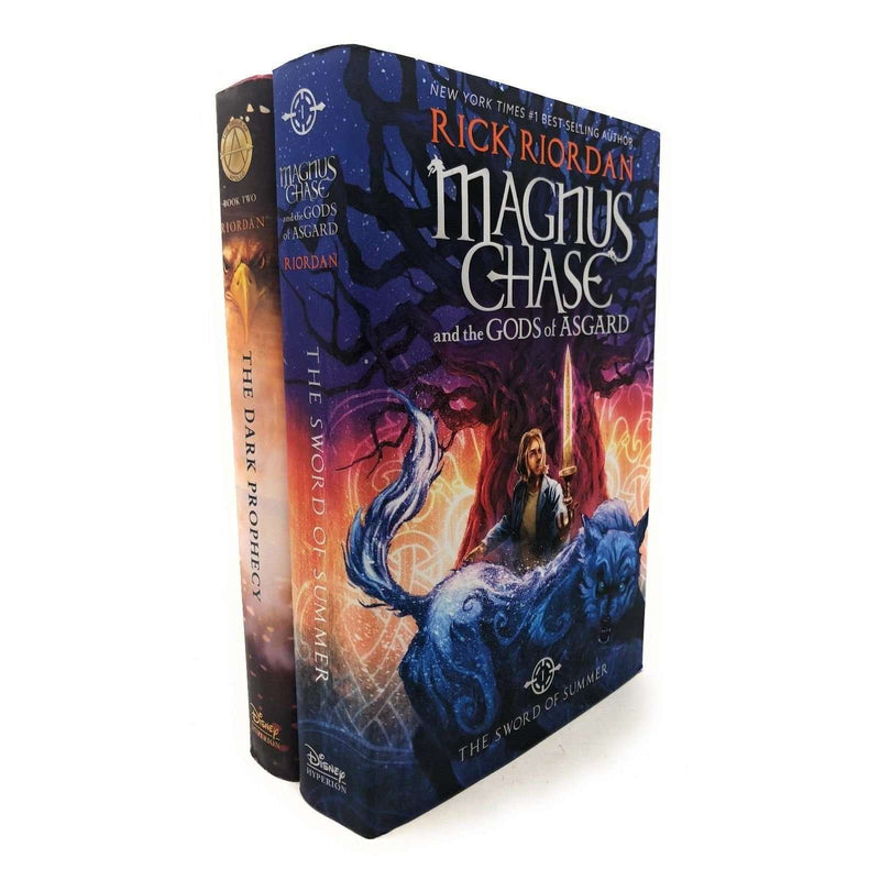 Rick Riordan Deluxe 2 Books Set Collection Magnus Chase, Trials Of Apollo