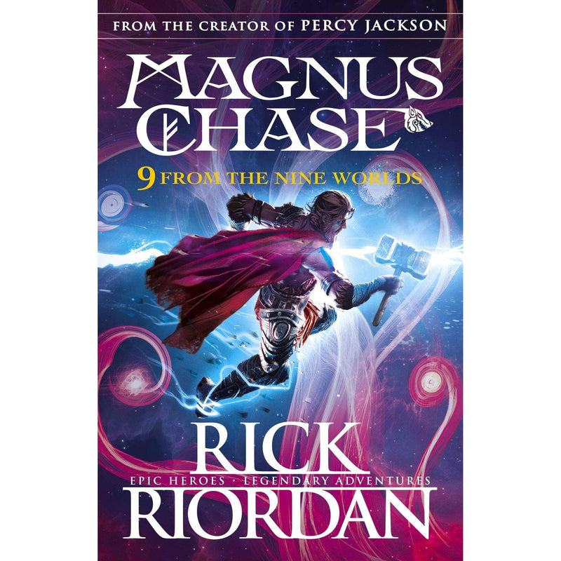 Rick Riordan Magnus Chase and the Sword of Summer collection 4 Books Set pack