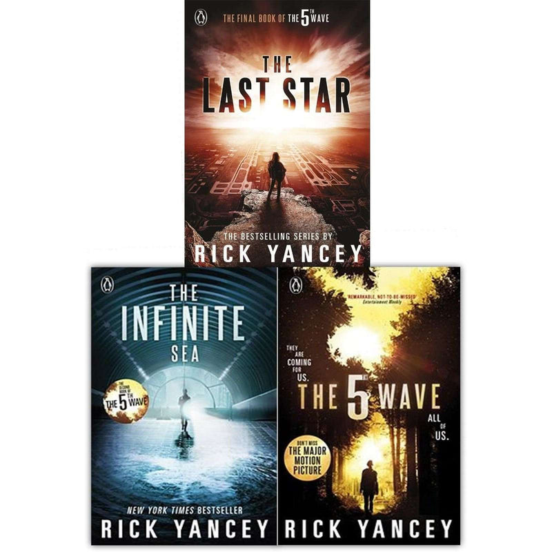 Rick Yancey Collection The 5th Wave Series 3 Books Set Infinite Sea, Last Star