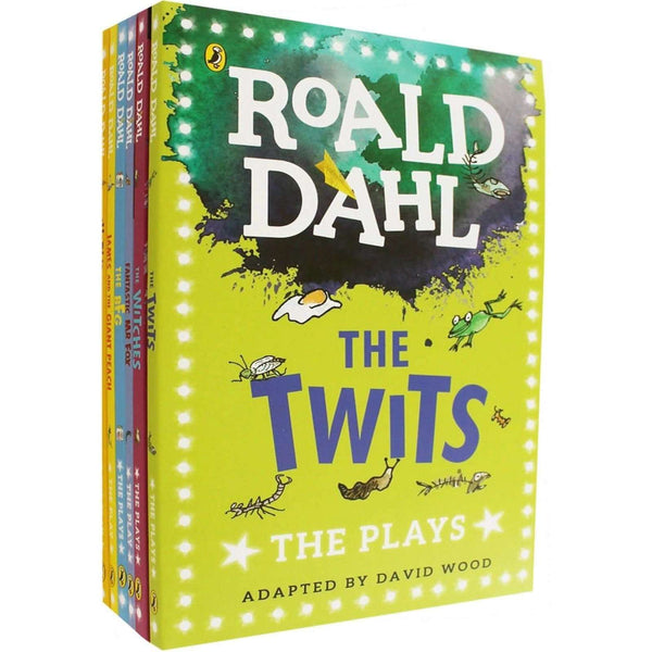 Roald Dahl The Plays 6 Books Collection Set The BFG, The Twits, Charlie