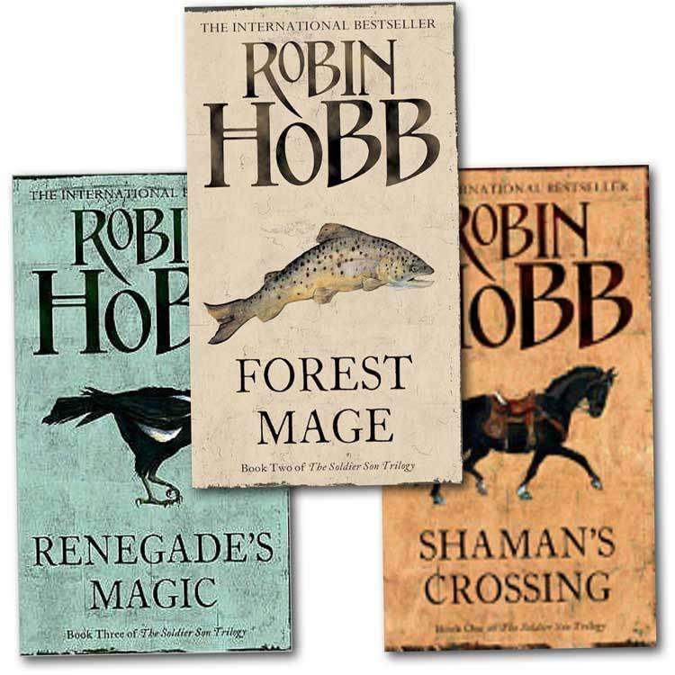 Robin Hobb 3 Books Set Collection The Soldier Son Trilogy