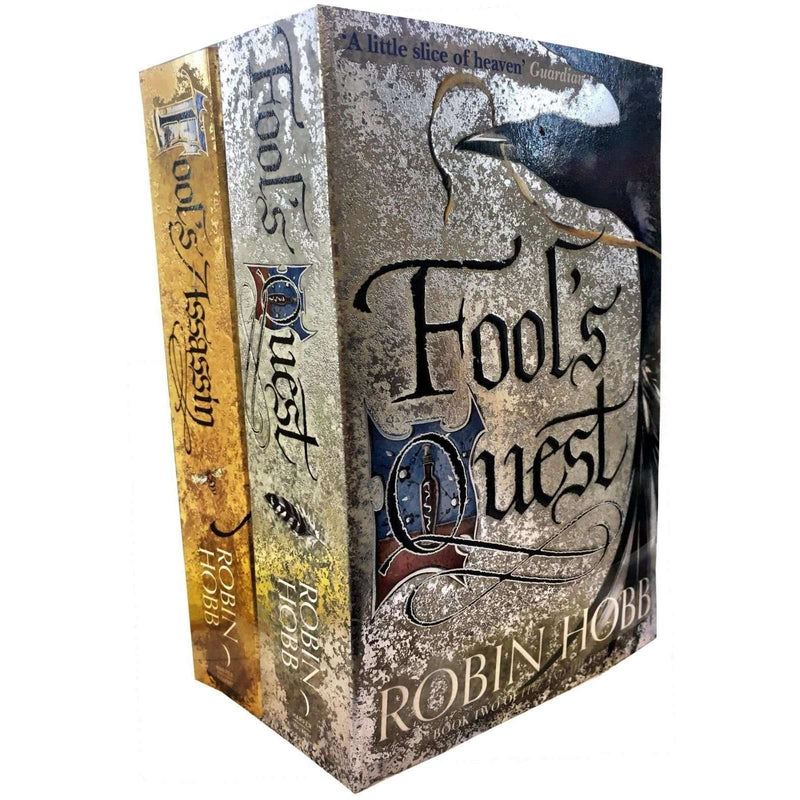 Robin Hobb Fitz and the Fool Collection 2 Books Set Fools Assassin, Fools Quest
