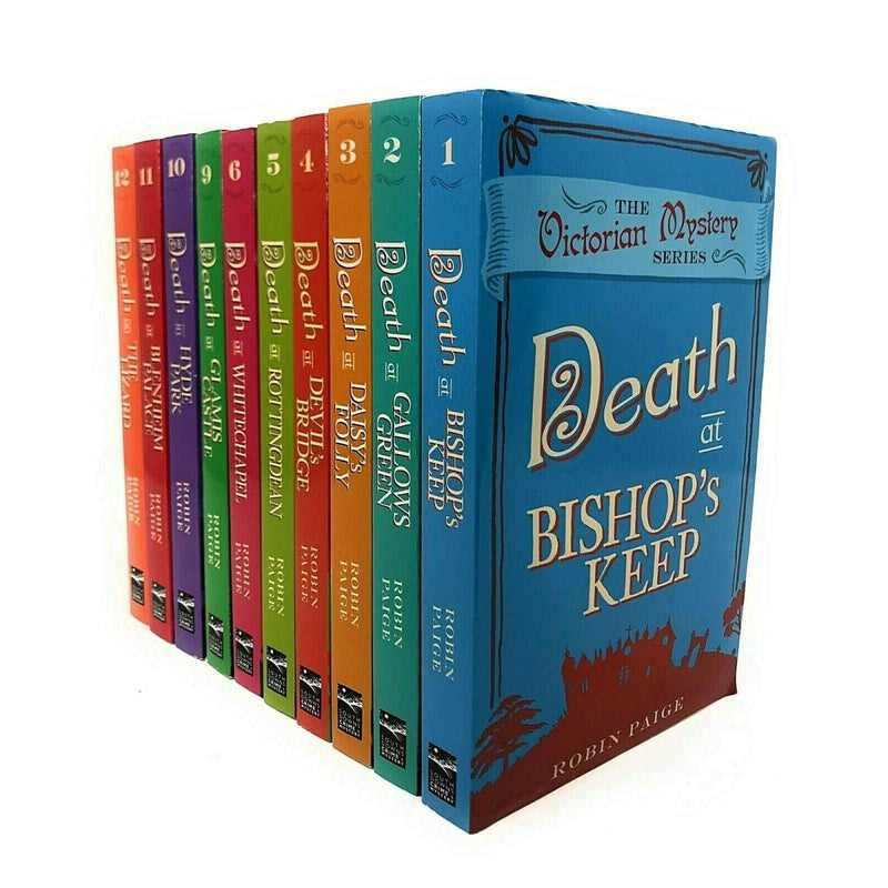 Robin Paige Victorian Mystery Series Collection 10 Books Set Death on the Lizard