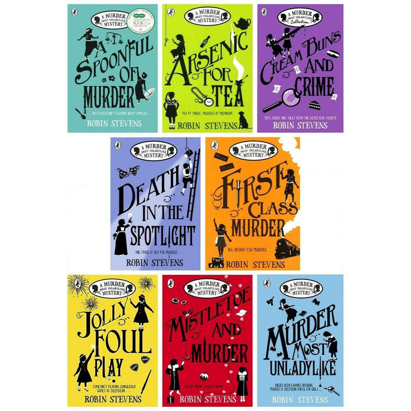 Robin Stevens A Murder Most Unladylike Mystery 8 Books Set Pack Collection