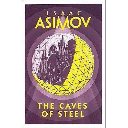 Robot Series Collection By Isaac Asimov 4 Books Set The Caves of Steel Paperback