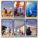 Roman Mysteries Collection Caroline Lawrence 6 Books Set
