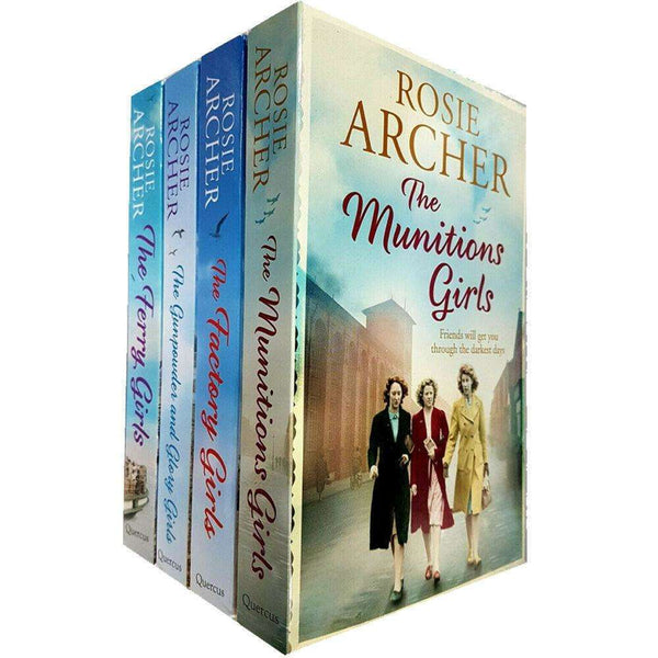 Rosie Archer 4 Books Collection Set Inc The Munitions Girls, The Ferry Girls