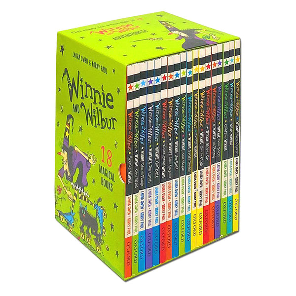 Winnie and Wilbur 18 Books Set Collection by Laura Owen
