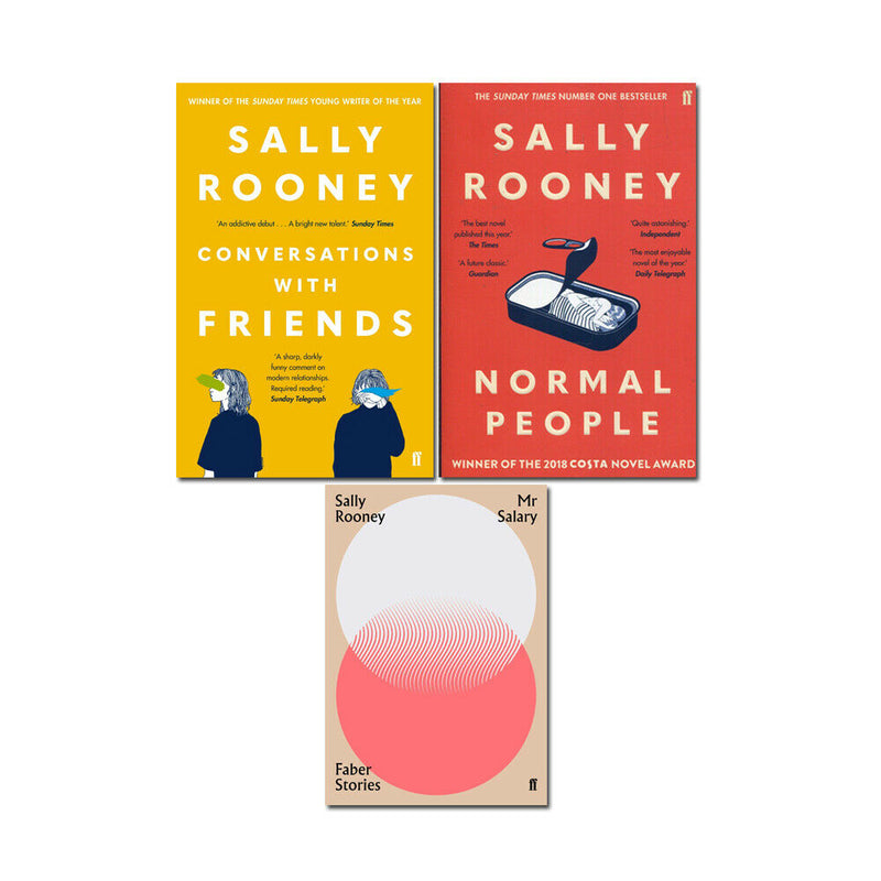 Sally Rooney 3 Books Adult Collection Paperback Gift Pack Set (Normal People)
