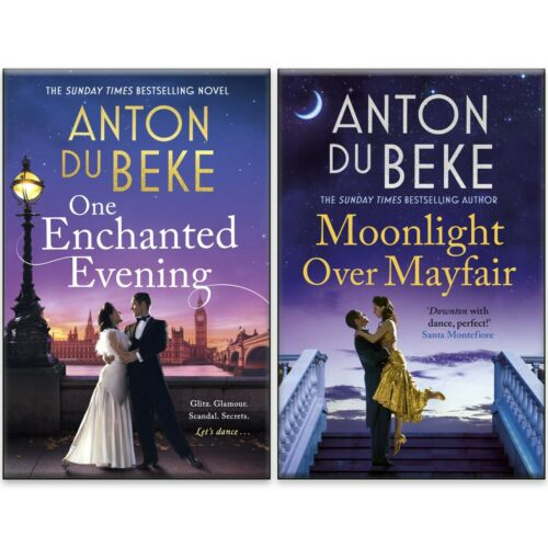Anton Du Beke 2 Books Collection Set Enchanted Evening & Moonlight Over Mayfair