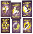 Isaac Asimov Robot Series 6 Books Collection Set Inc The Robots of Dawn, I Robot