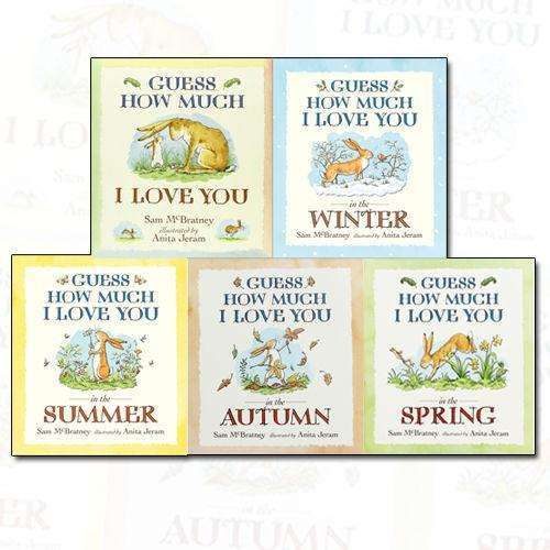 Sam McBratney Guess How Much I Love You Collection 5 Books Set Pack