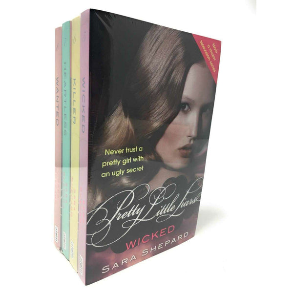 Pretty Little Liars 4 Books Set Collection Series 2 Wicked, killer by Sara Shepard