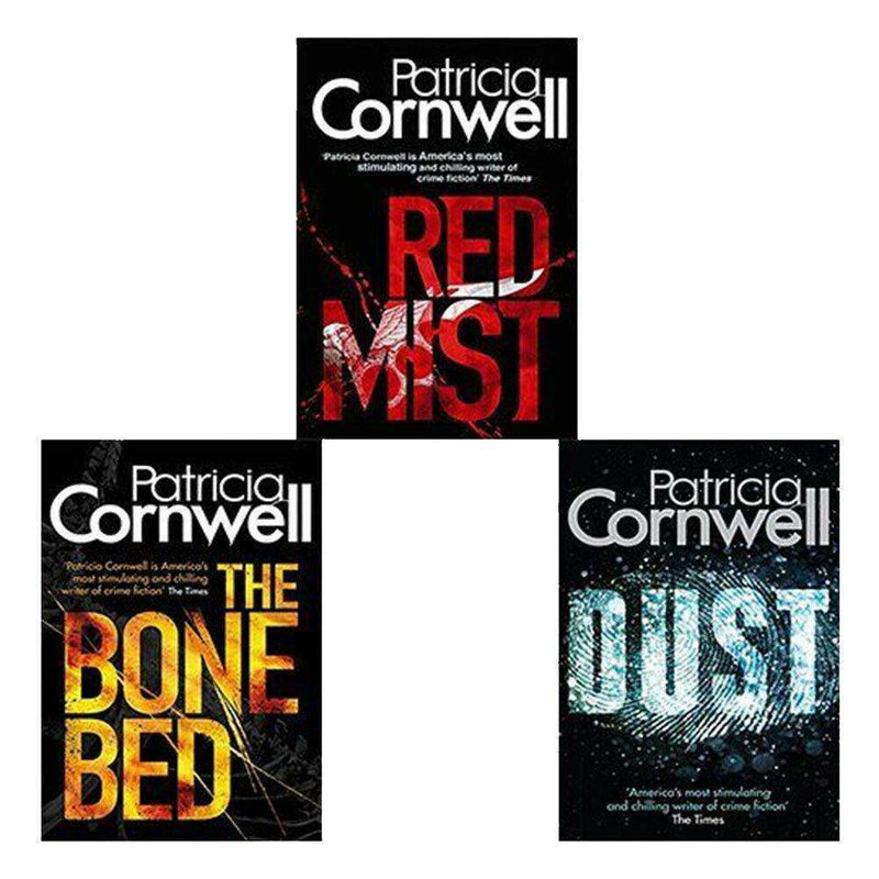Scarpetta Series Bone Bed 3 Books Set Collection Patricia Cornwell
