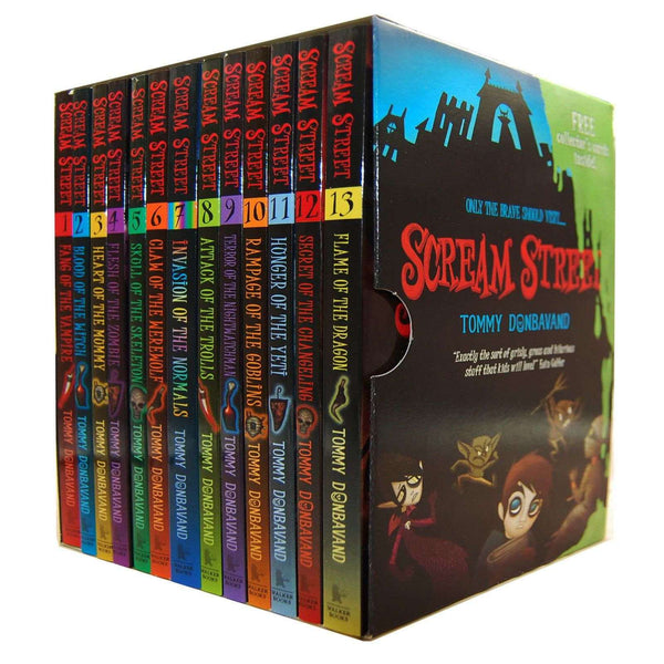 Scream Street 13 Books Box Set Collection Tommy Donbavand