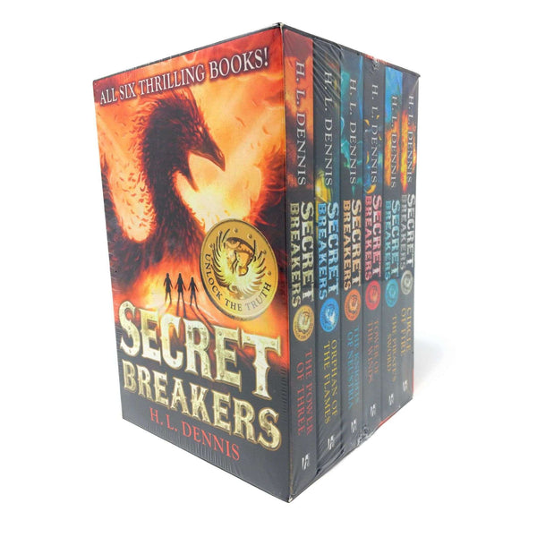 Secret Breakers Series Collection H.L Dennis 6 Books Box Set Collection
