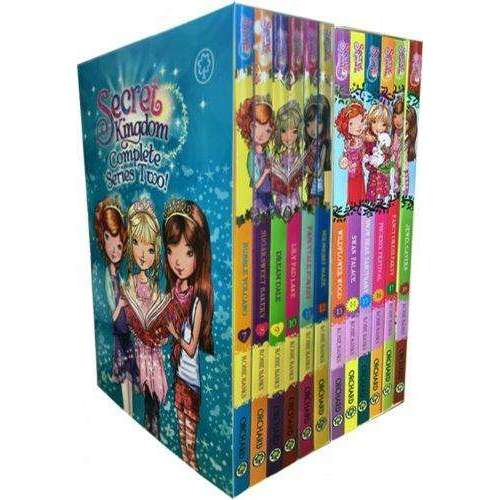 Secret Kingdom Series 2 and 3 Collection Rosie Banks 12 Books Box Set