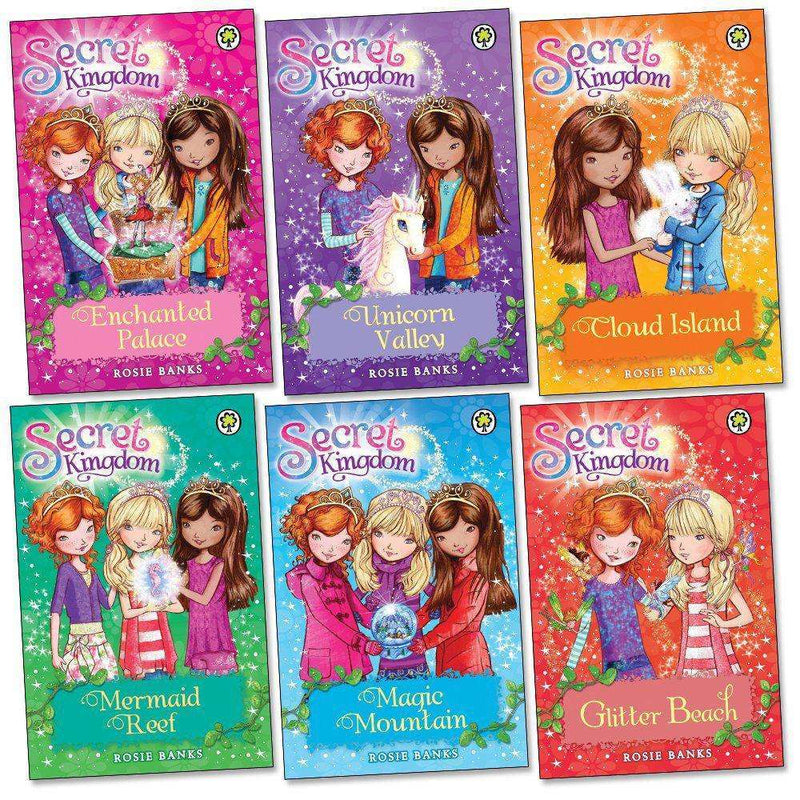 Secret kingdom Series Collection 6 Books Box Set series 1 (1-6) by Rosie Banks