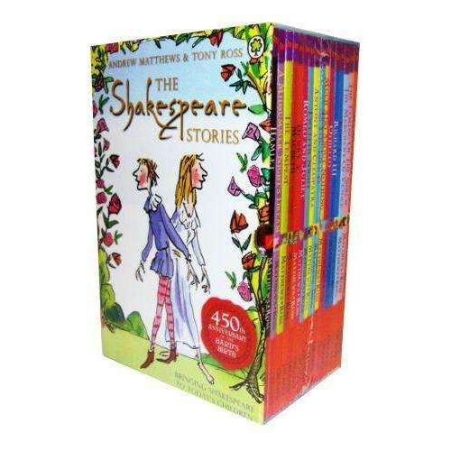 Shakespeare Childrens Story Collection 16 Books Box Set illustrated by Tony Ross