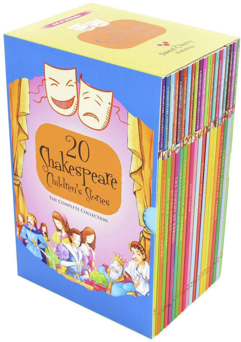 Shakespeare Children Stories The Complete Collection 20 books box set Pack