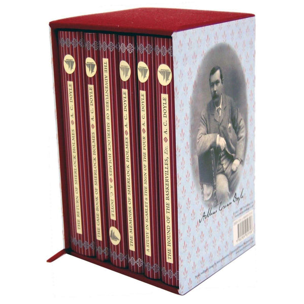 Sherlock Holmes 6 Books Collection Box Set Arthur Conan Doyle Collectors Library