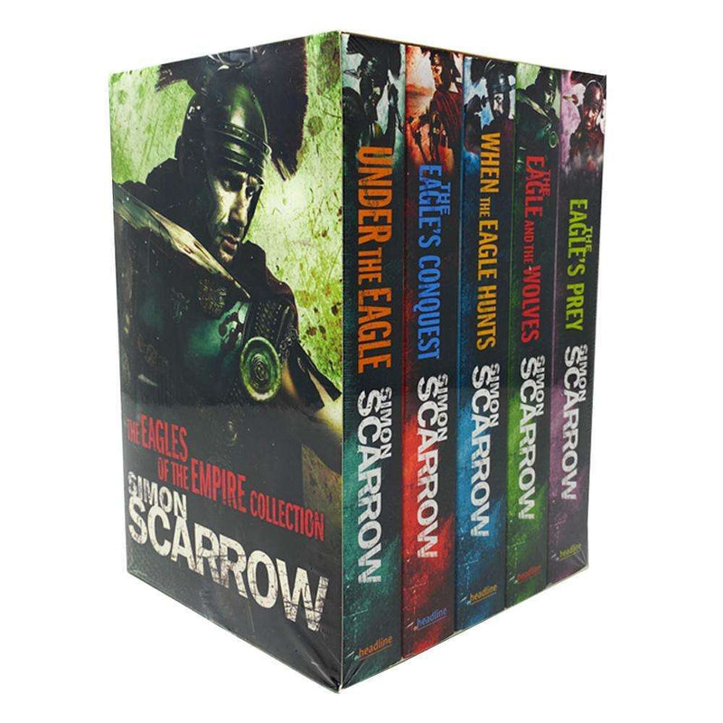 Simon Scarrow 5 Books Box Set Collection (Eagles Of The Empire Series),