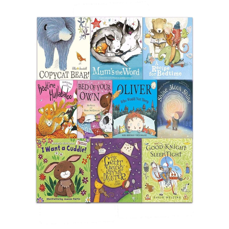 Snuggle Up Stories Collection 10 Books Set in Bag Children Bed time book Pack