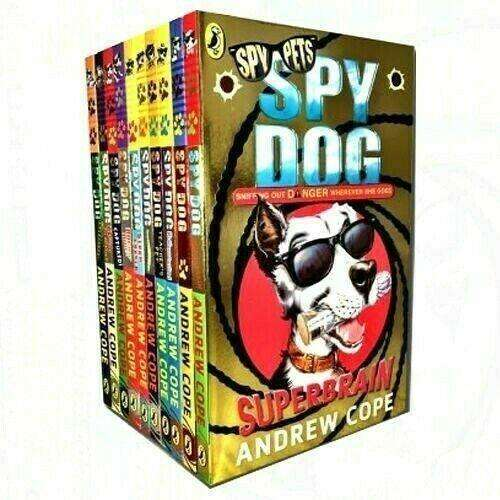 Spy Dog Series By Andrew Cope 10 Books Collection Set - Storm Chaser, Captured!