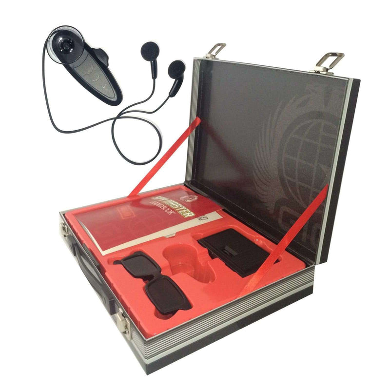 Spy Master Briefcase and Spy Secret Codes Communication Collection Kit Set