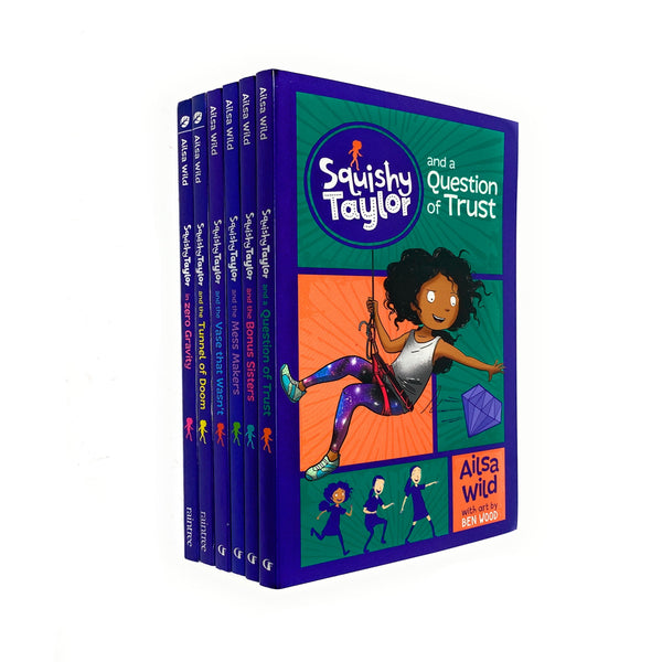 Squishy Taylor 6 Book Collection Set Pack By Alisa Wild