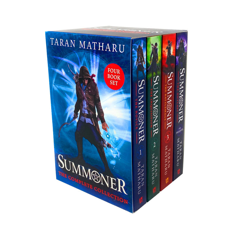 Taran Matharu Summoner Series 4 Books Collection Set Outcast