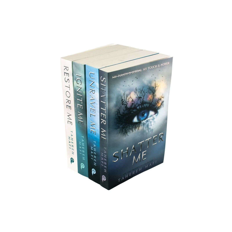 Tahereh Mafi Shatter Me Series 4 Book Set Collection Shatter, Restore