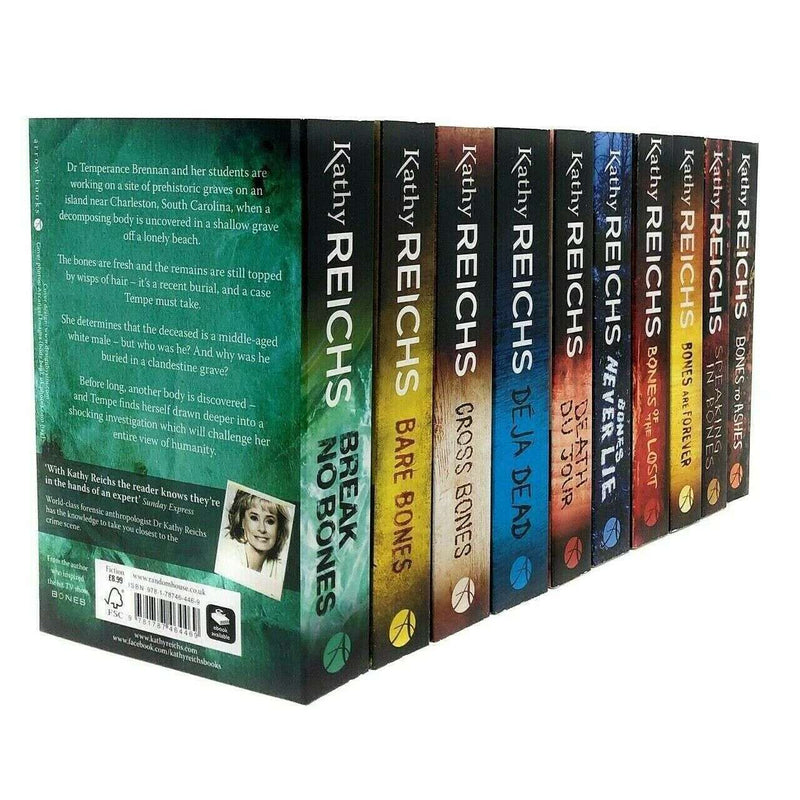Temperance Brennan Series 10 Book Set Collection Pack Kathy Reichs