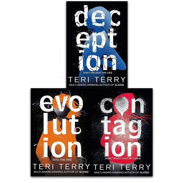 Teri Terry Collection Dark Matter Series 3 Books Set Pack Contagion Deception