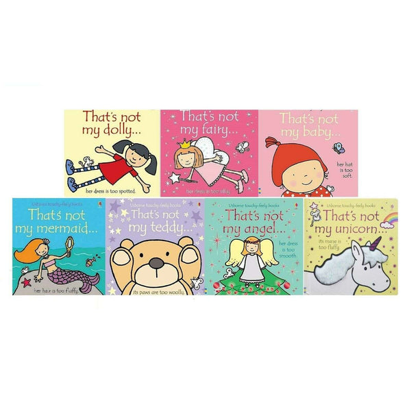 Thats Not My Fairy That's Not My Girls Collection 7 Books Set BRAND New