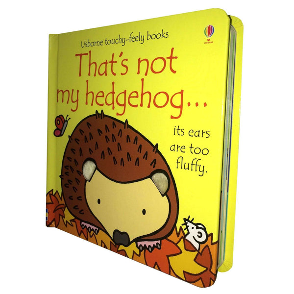 Thats Not My Hedgehog (Usborne Touchy-Feely Board Books), F. Watt, R. Wells