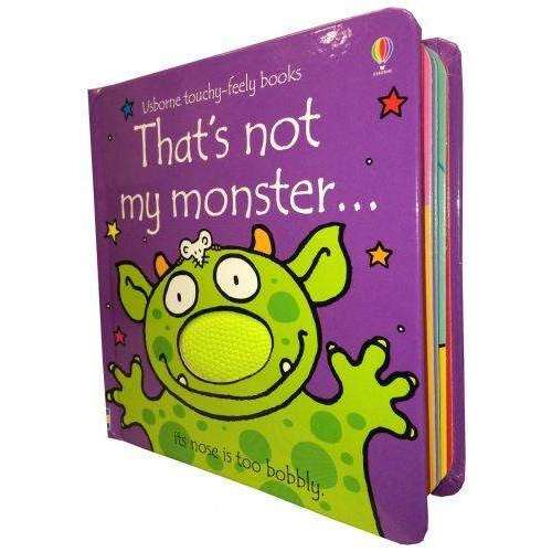 Thats Not My Monster (Touchy-Feely Board Books)
