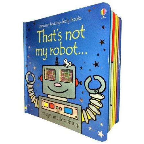 Thats Not My Robot (Touchy-Feely Board Books)