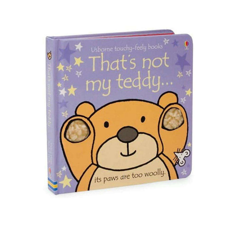 Thats Not My Teddy (Usborne Touchy-Feely Board Books) By Fiona Watt