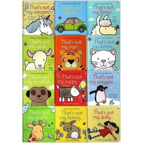 Thats Not My Toddlers 12 Books Collection Set Pack Fiona Watt (Touchy Feely Board Books)