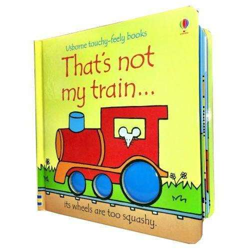 Thats Not My Train (Touchy-Feely Board Books)