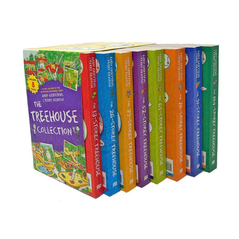 The 13 Storey Treehouse Collection 8 Books Box Set By Andy Griffiths