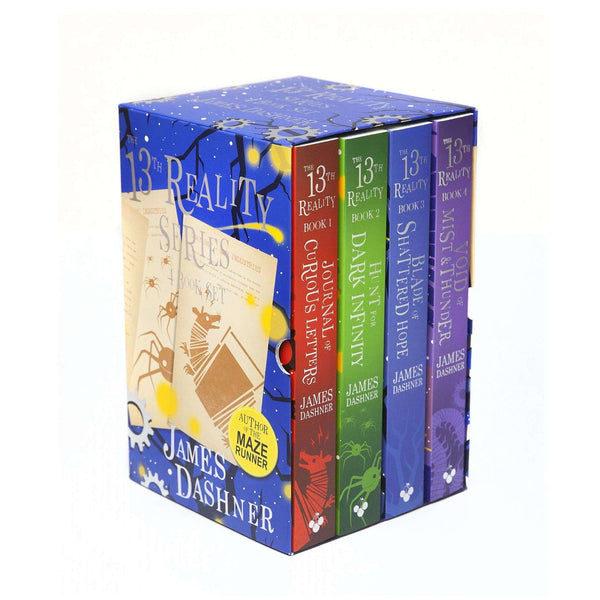 The 13th Reality The Complete 4 Books Collection Box Set By James Dashner